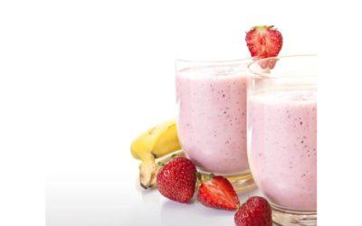 Un bicchiere di frutta e verdura da bere anziché mangiare